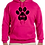 Thumbnail: Unisex Hoodie- Dog Mom In Paw