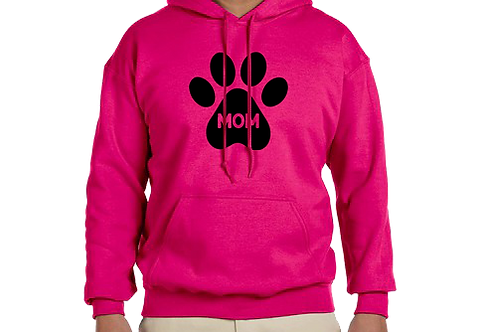 Unisex Hoodie- Dog Mom In Paw
