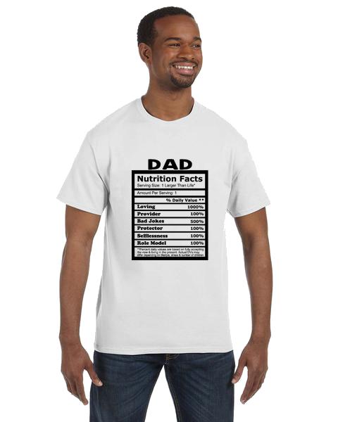 Unisex Gildan T-shirt- Dad Nutrition