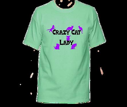 Unisex Gildan T-shirt- Crazy Cat Lady