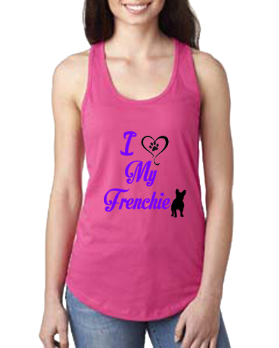 Ladies Tank- Love Frenchie