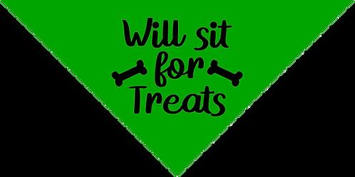 Bandana- Sit For Treats