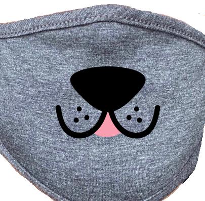 Face Mask- Dog Mouth 4