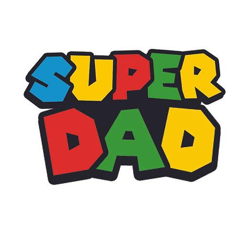 Decal- Super Dad Gamer
