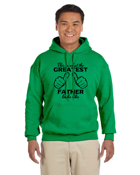 Unisex Hoodie- Greatest Father