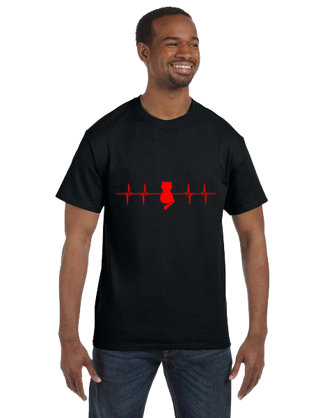 Unisex Gildan T-shirt- Cat Life Line