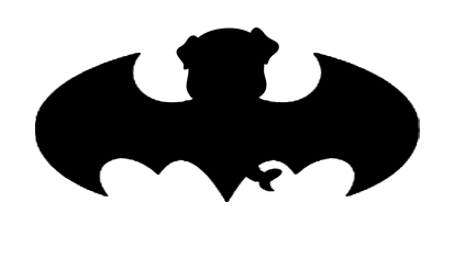 Decal- Bat Pug