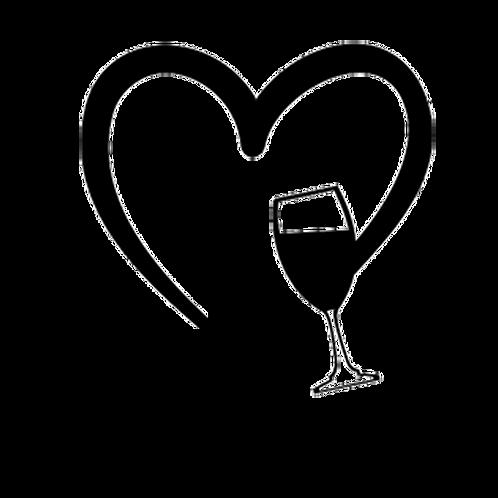 Decal- Cat & Wine