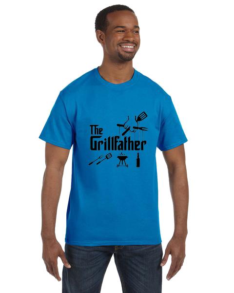 Unisex Gildan T-shirt- The Grill Father