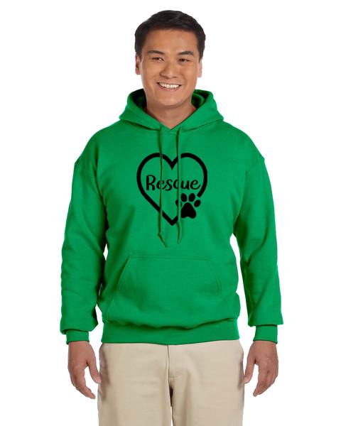 Unisex Hoodie- Rescue Heart