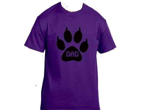 Unisex Gildan T-shirt- Cat Dad Paw