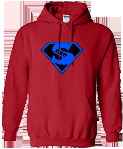 Unisex Hoodie- Super Dad1