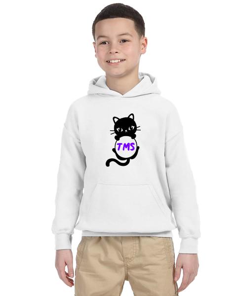 Kids Hoodie- Cat Initials