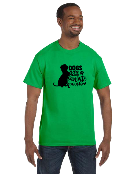 Unisex Gildan T-shirt- Dogs Favorite People