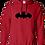 Thumbnail: Unisex Hoodie- Bat Pug