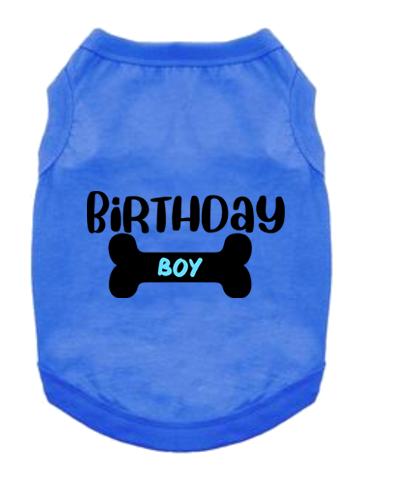 Pet Tank- Birthday Boy