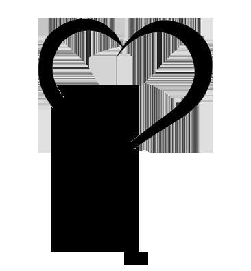 Decal- Cat Heart