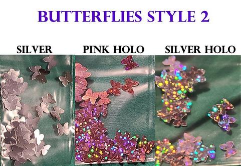 Butterflies Style 2 Glitter