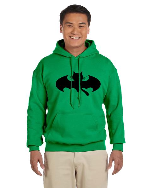 Unisex Hoodie- Bat Cat