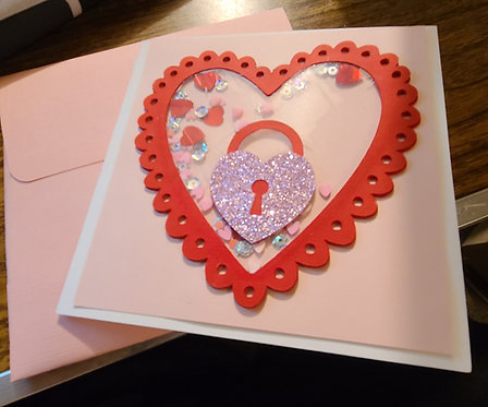 Hold Key to my Heart Card