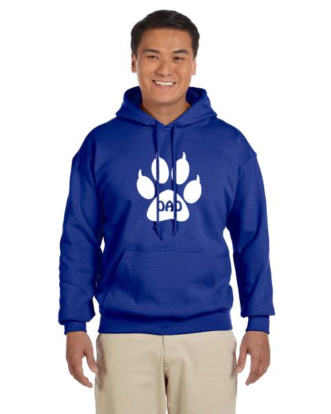 Unisex Hoodie- Cat Dad Paw
