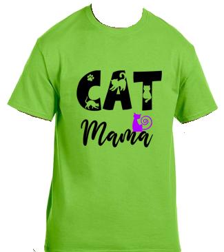 Unisex Gildan T-shirt- Cat Mama 1