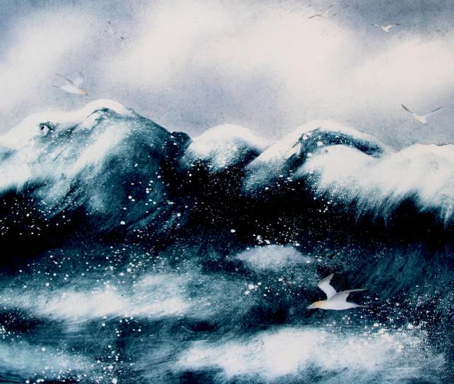 'Pounding Seas'