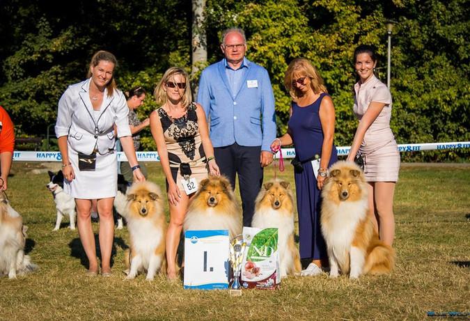 Midas with his children, Best Progeny Group AAPKK 2018