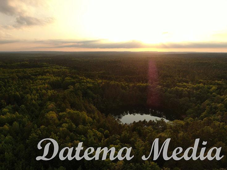 Lost Lake Sunset - Vanderbilt, MI