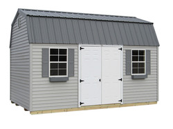 10x16 Lofted Garden Shed