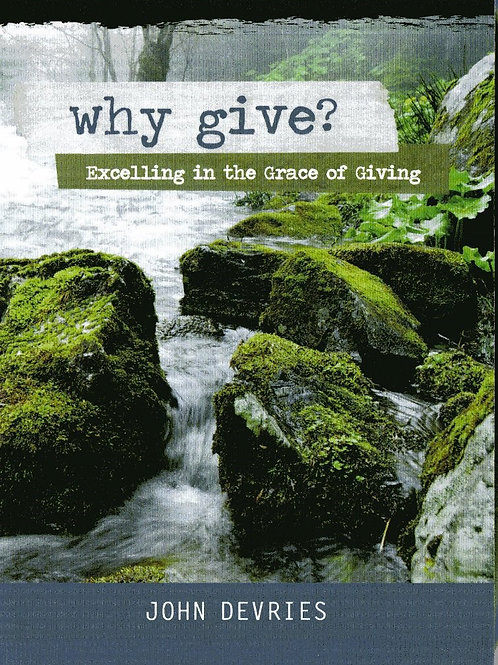 Why Give? - DVD