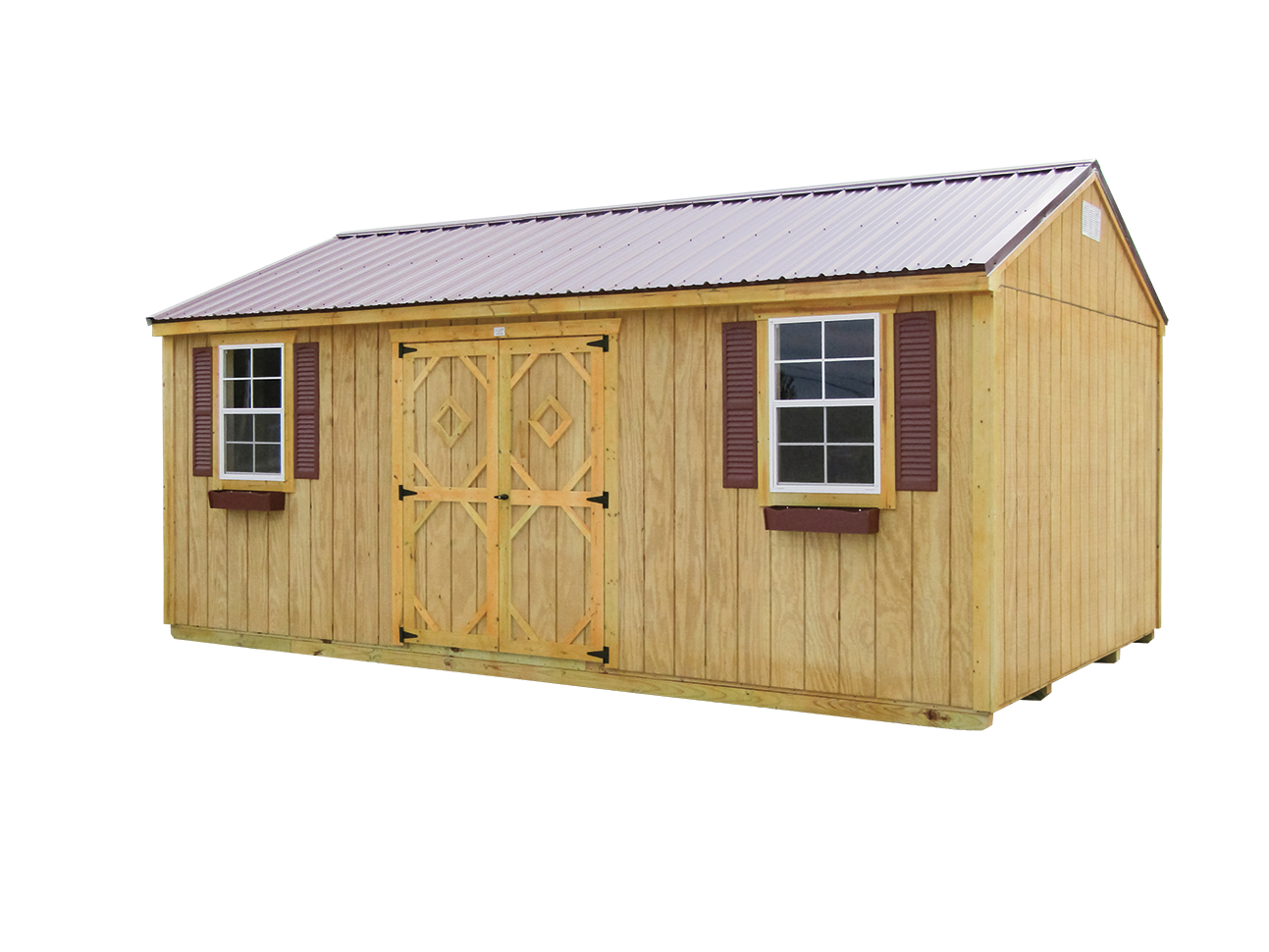 12x20 Gable Garden Shed