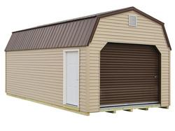 12x24 Lofted Garage