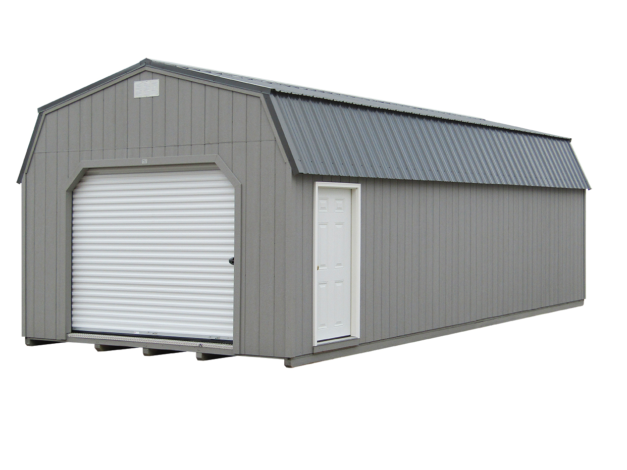 14x32 Lofted Garage
