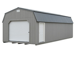 14x32 Lofted Garage