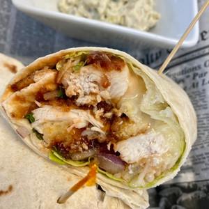 Hawaiian BBQ Chicken Wrap