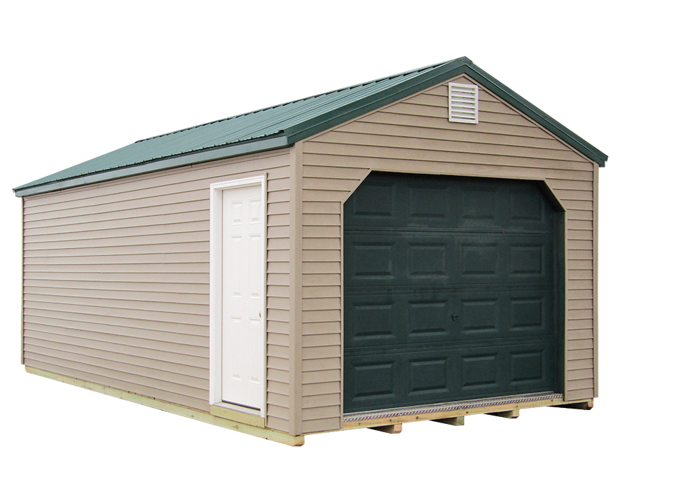 12x24 Gable Garage