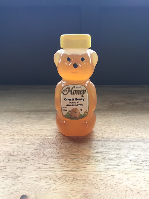 12 oz Honey Bear