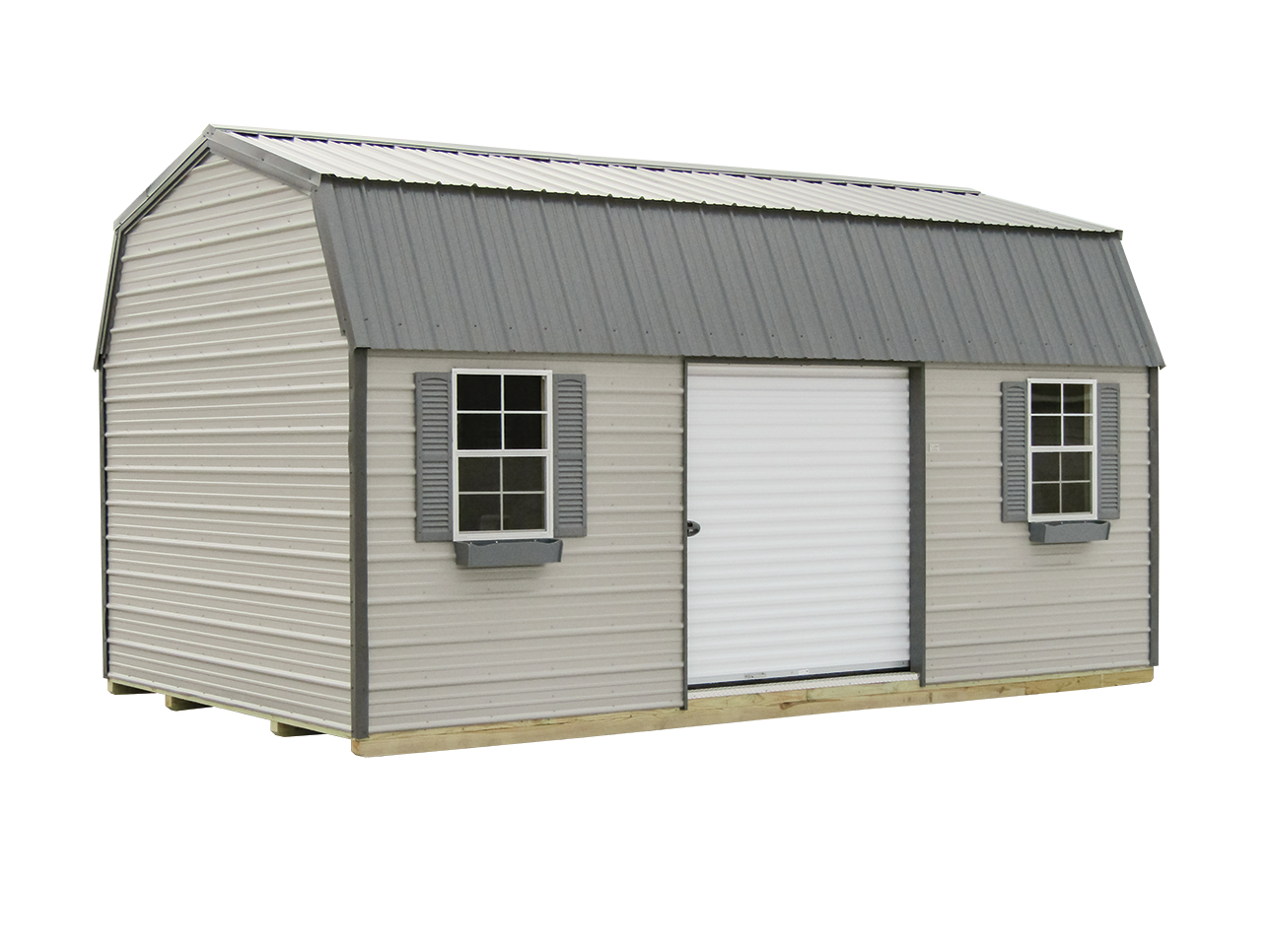 12x20 Lofted Garden Shed