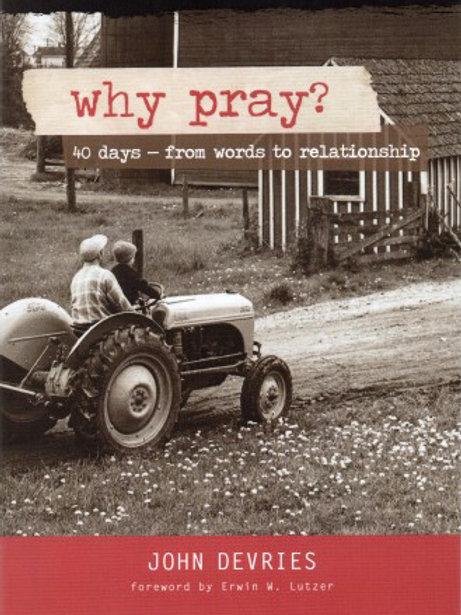 Why Pray?- DVD