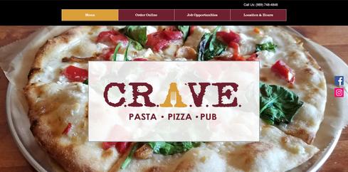 C.R.A.V.E. Pizza - Pasta - Pub