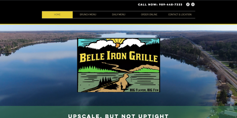 Belle Iron Grille