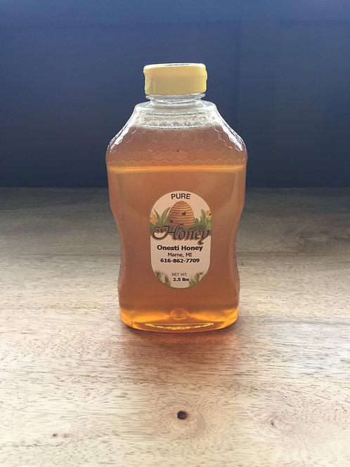 2.5 Pound Honey Jar