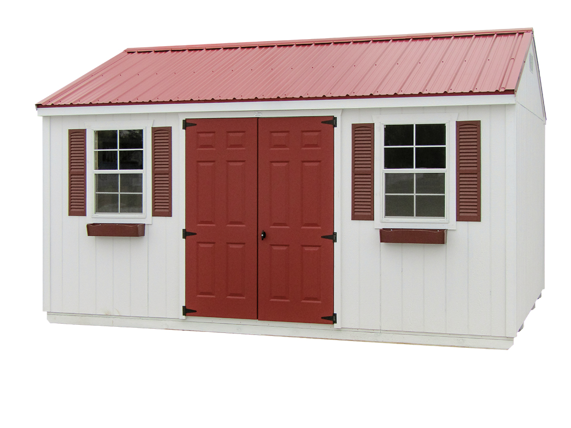 12x16 Gable Garden Shed