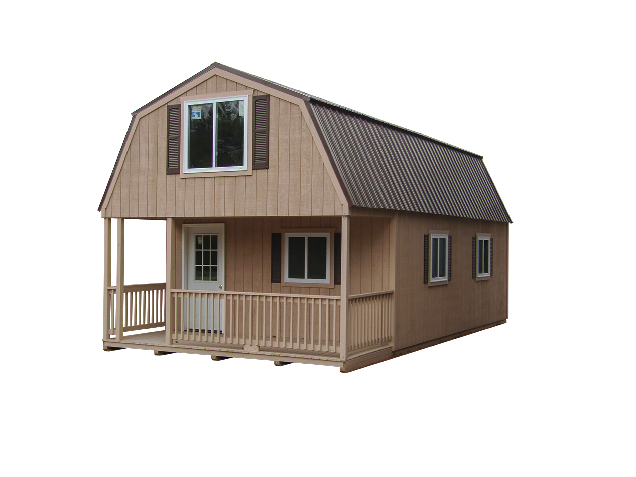 16x30 Lofted Cabin
