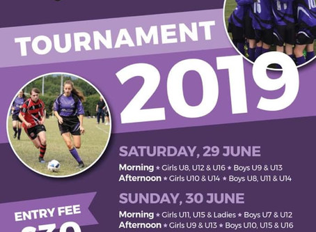 Anchorians FC Annual Tournament 29th and 30th June 2019