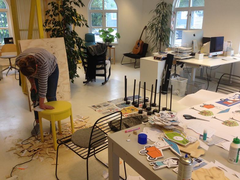 Forberedelser til medvirkning på kontoret i Stavanger