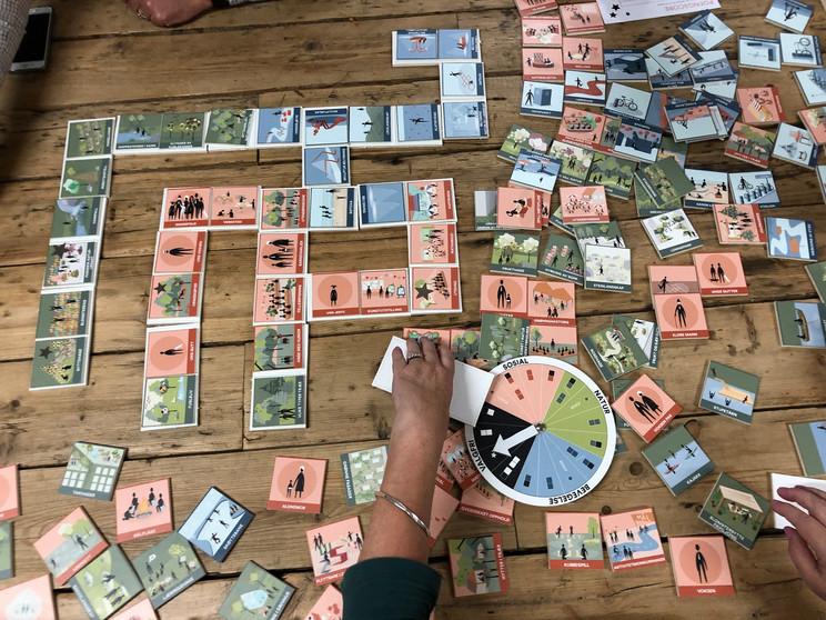 Byromspillet - medvirkningsspill for å programmere byrom. Utviklet på oppdrag for Sandnes kommune.