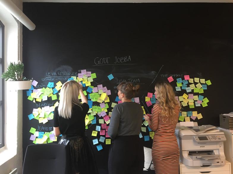 Intern teambuilding på Stavanger kontoret
