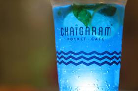 Chai Garam Special Blue Mojito